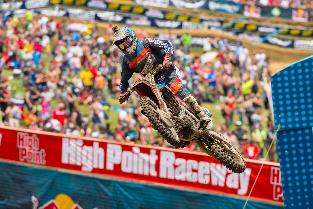 Troy Lee Designs' Cole Seely Runs Down Top 10 Finish in Southern Pennsylvania
