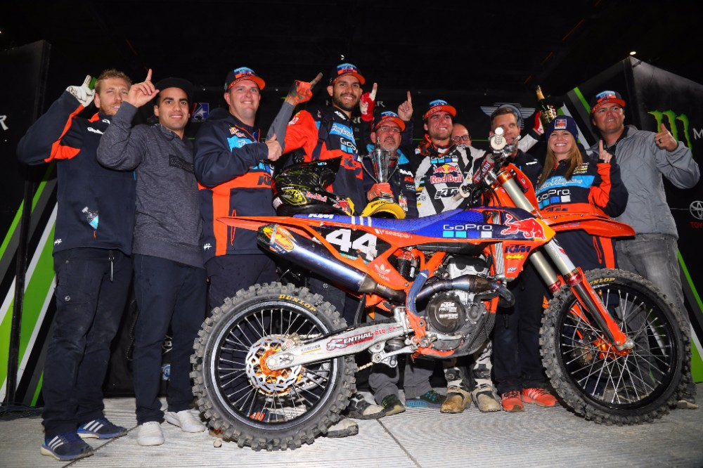 Troy Lee Designs/Red Bull/KTM's Jordon Smith Wins in the Motor City