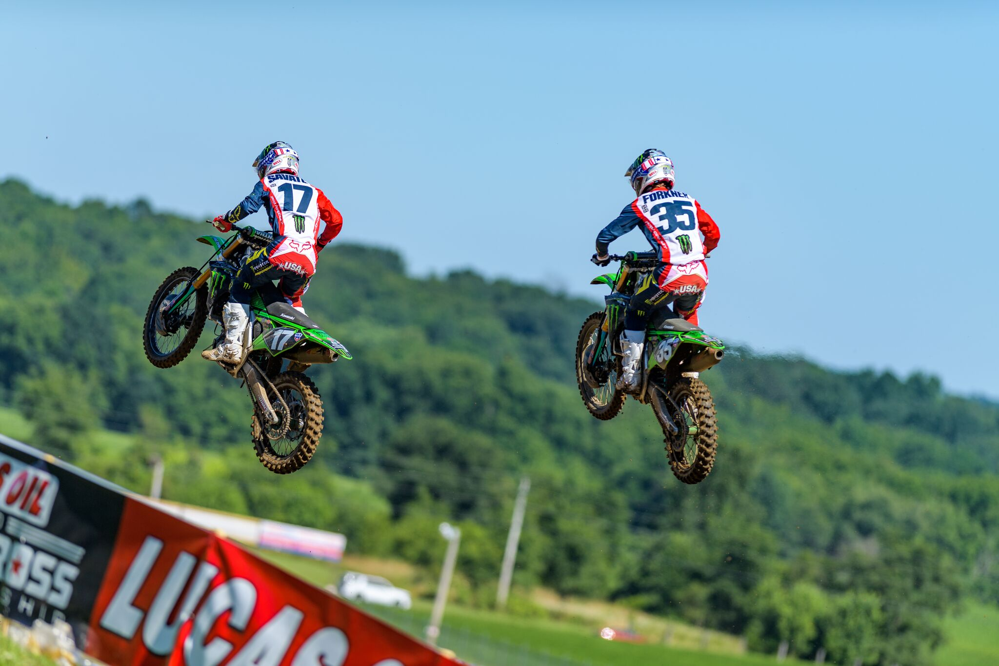 Monster Energy Pro Circuit Kawasaki's Forkner Makes Moto 2 Comeback at RedBud