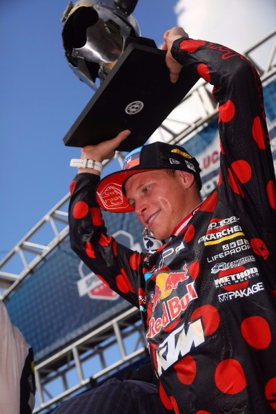 TLD/Red Bull/KTM's Martin Earns Third-Straight Podium Finish at Hometown Race