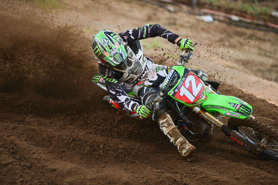Monster Energy/Pro Circuit/Kawasaki's Blake Baggett