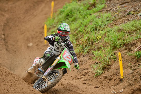 Monster Energy/Pro Circuit/Kawasaki's Blake Baggett