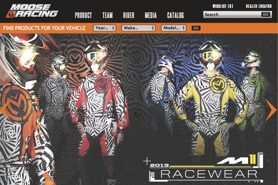 Moose Racing Launches New Website