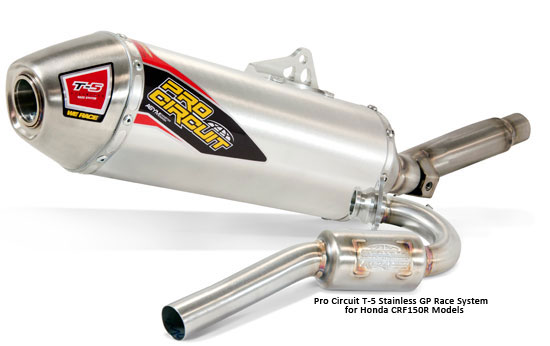 Pro Circuit T-5 GP System for Honda CRF150R Models