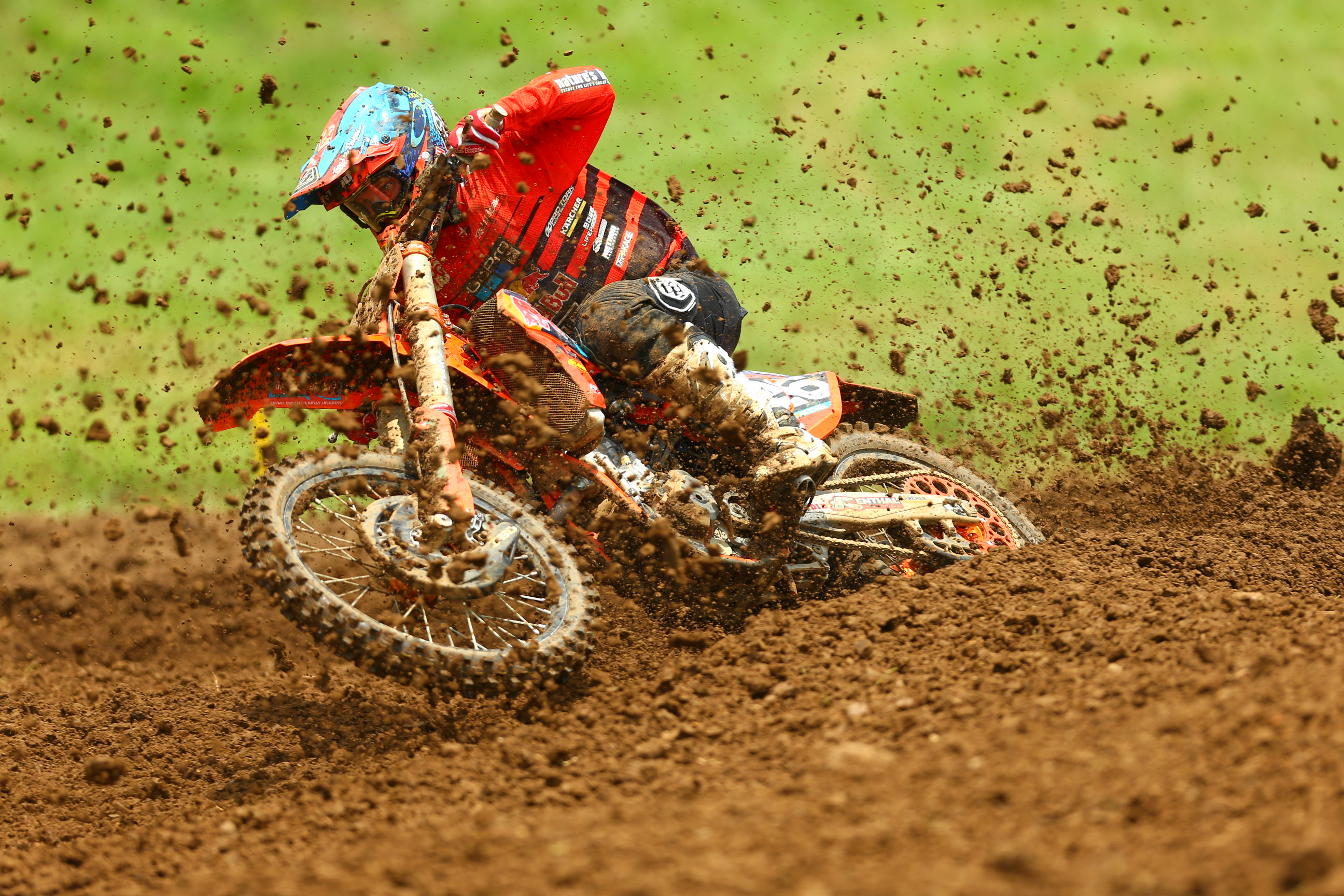 Troy Lee Designs/Red Bull/KTM's Martin Moves Back Into Second In Championship Standings