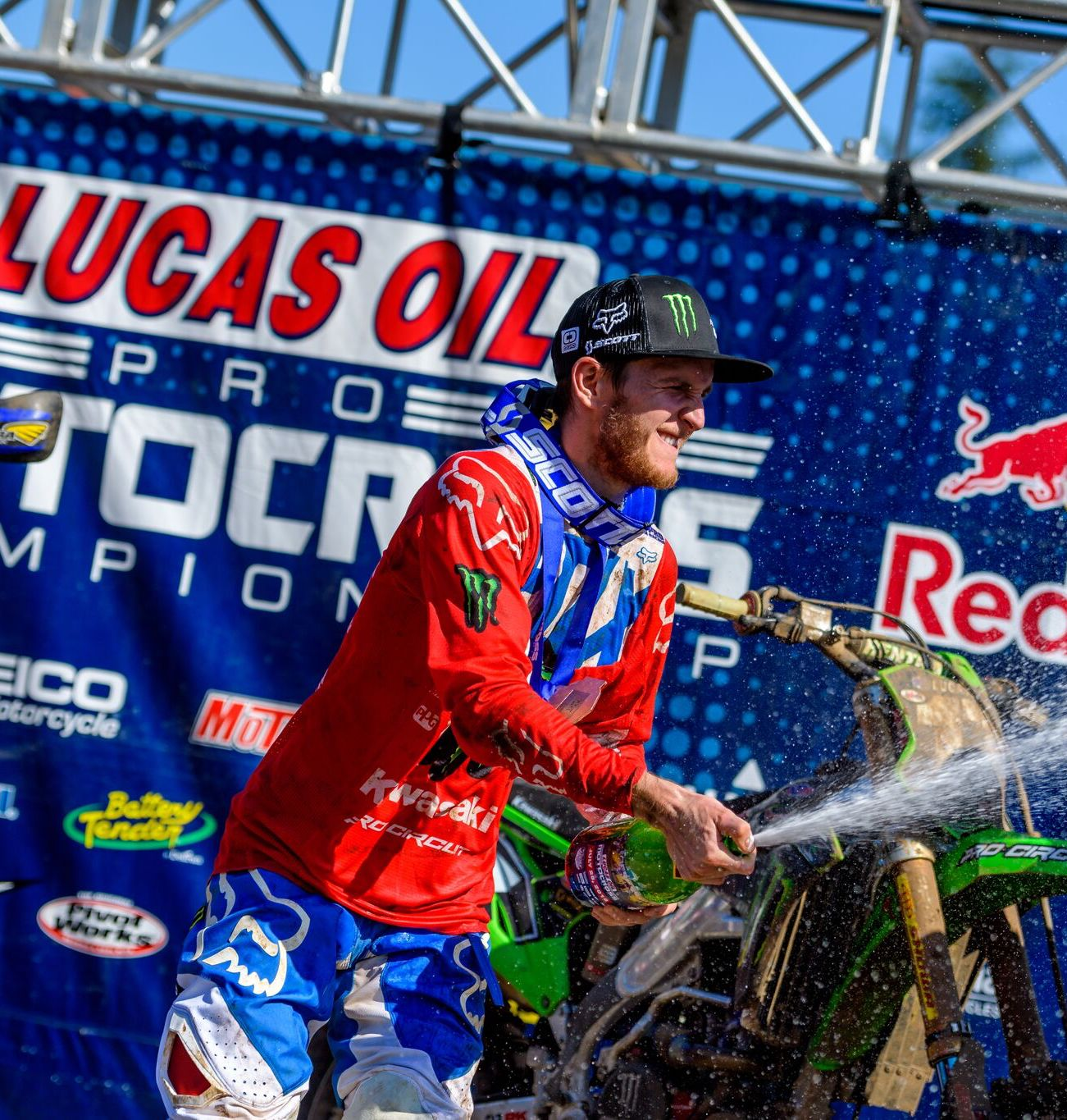 Savatgy Claims First Moto Win and Overall Podium of the Season