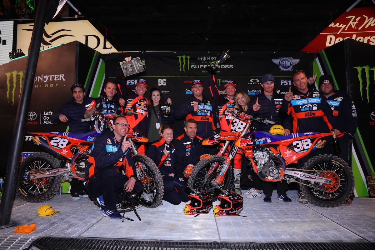 McElrath Wins in Salt Lake City As Troy Lee Designs/Red Bull/KTM Goes 1-2