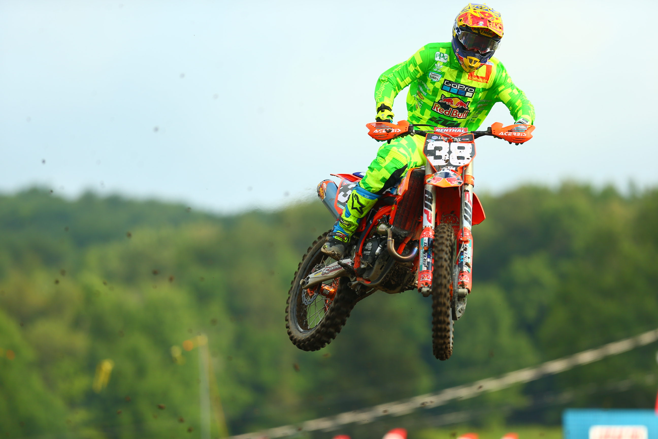 Troy Lee Designs/Red Bull/KTM McElrath and Cantrell Endure Muddy Conditions at Unadilla