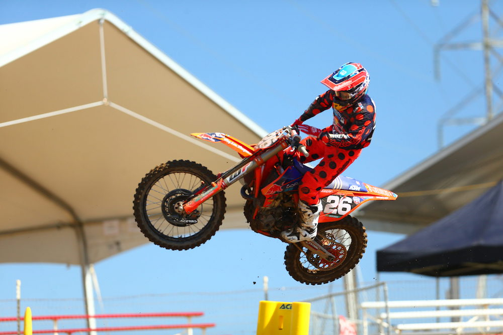 Troy Lee Designs/Red Bull/KTM's Alex Martin Starts Motocross Season with Second Overall Result