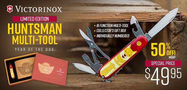 Victorinox Huntsman Multi-Tool Now 50% Off!