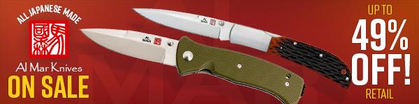 Al Mar Knives On Sale