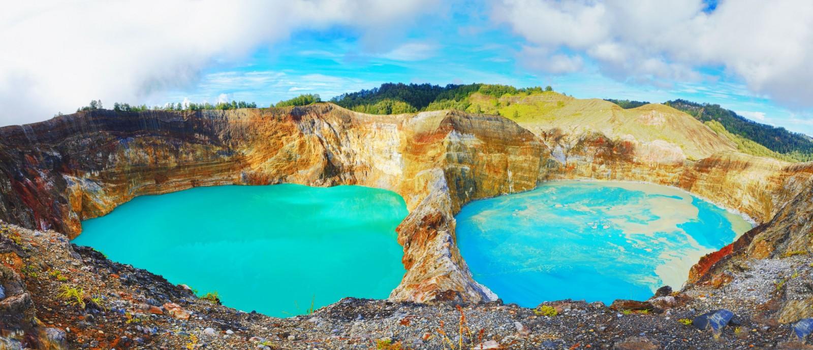 Indonezija - Mount Kelimutu