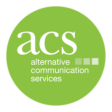 Small green logo for Alternative Communication Services