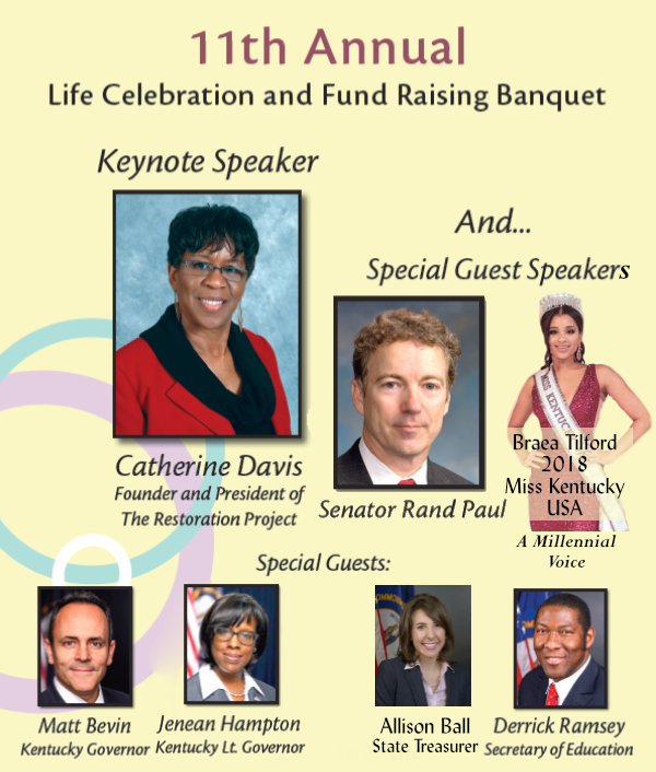 The Sisters For Life 11th Annual Life Celebration Fundraising Dinner and Praise Concert