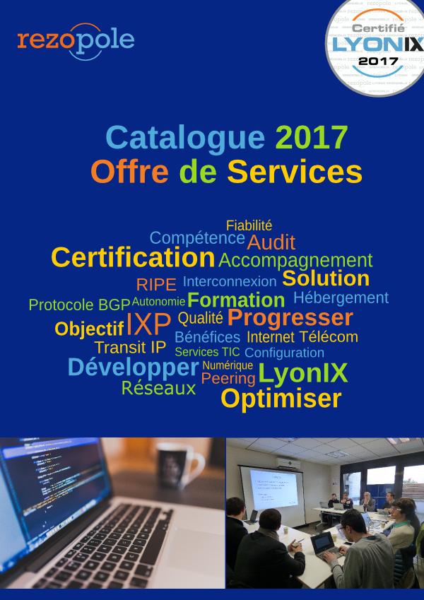 Catalogue d'Offre de Services