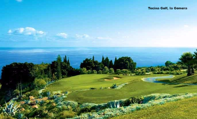 Tecina Golf Course on la Gomera, Canary Islands Spain
