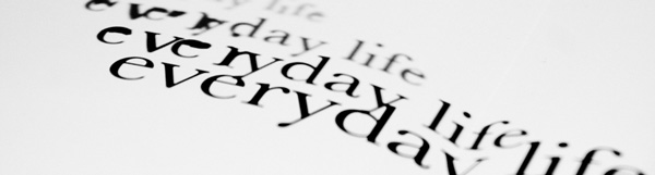 Everyday Life banner