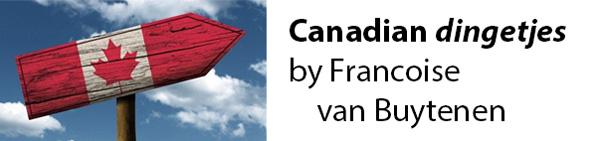 Francoise van Buytenen - Canadian dingetjes Story banner