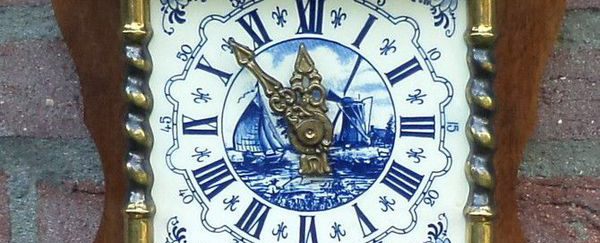 Old Ducth Wall Clock photo
