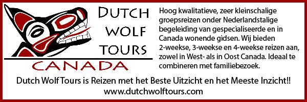 Newsletter Sponsor: Dutch Wolf Tours banner
