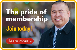 The pride of membership, Join Today!