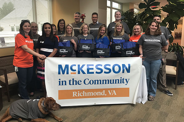 McKesson employees offer Massey patients comfort and support