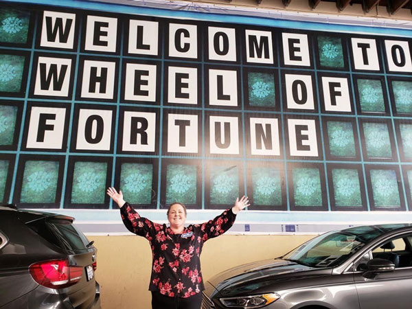 Dream to compete on 'Wheel of Fortune' comes true for Massey nurse and breast cancer survivor