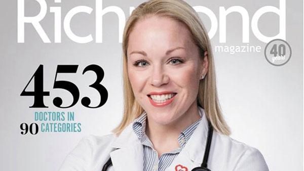 "Massey physicians named Richmond's ""Top Docs"""