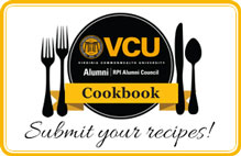 VCU Alumni Cookbook. Submit your recipes