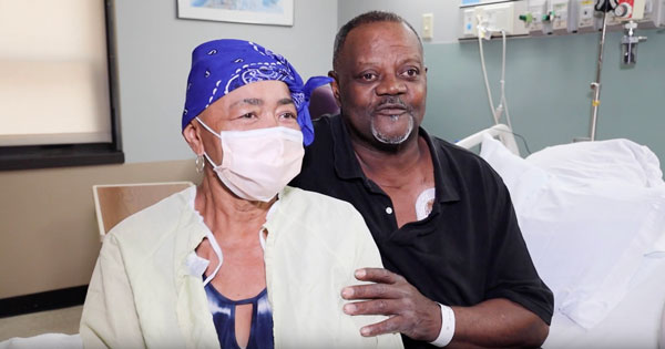 Overcoming cancer with love