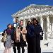 VCU Social Work students at D.C.