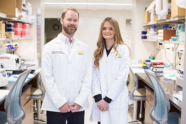 There are no targeted drugs to treat triple-negative breast cancer. A VCU student aims to fix that.