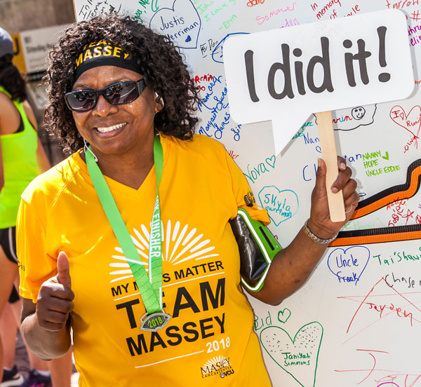 Accept the Massey Challenge and help us move closer to a future without cancer