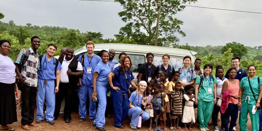 Reach 4 Ghana students