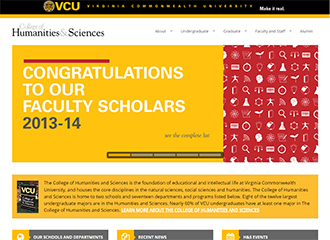 New College of Humanities and Science Website