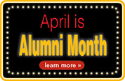 April is Alumni Month