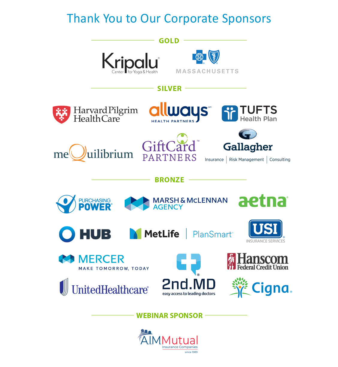 WWCMA Corporate Sponsors