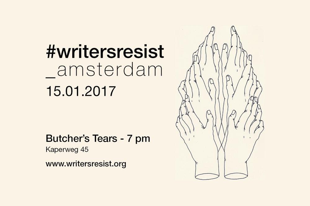 #writersresist_amsterdam