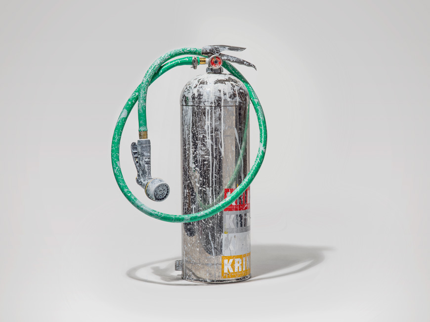 Krink Untitled K-8000 Fire Extinguisher