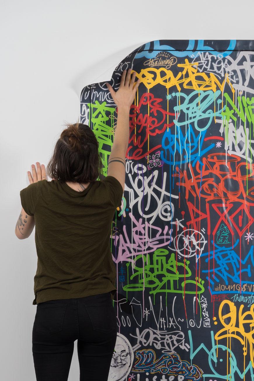 Krink WHQ (Wallpaper) installation
