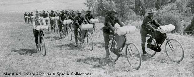 25th Infantry Bicycle Corps in 1897