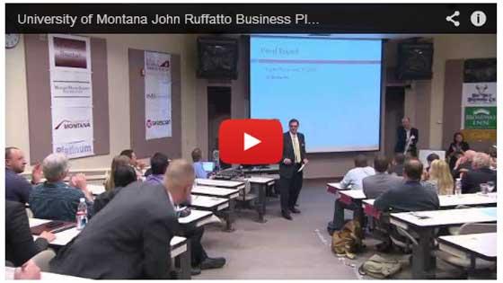 UM's John Ruffatto Business Plan Competition