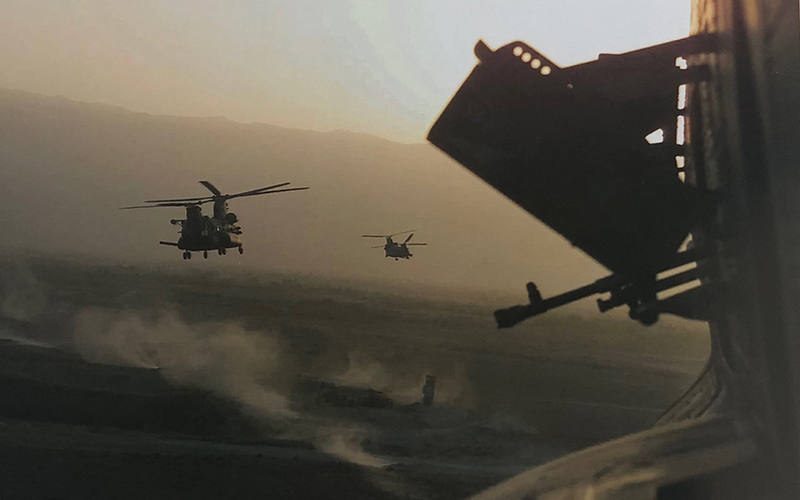 Helicopter Gun Fight