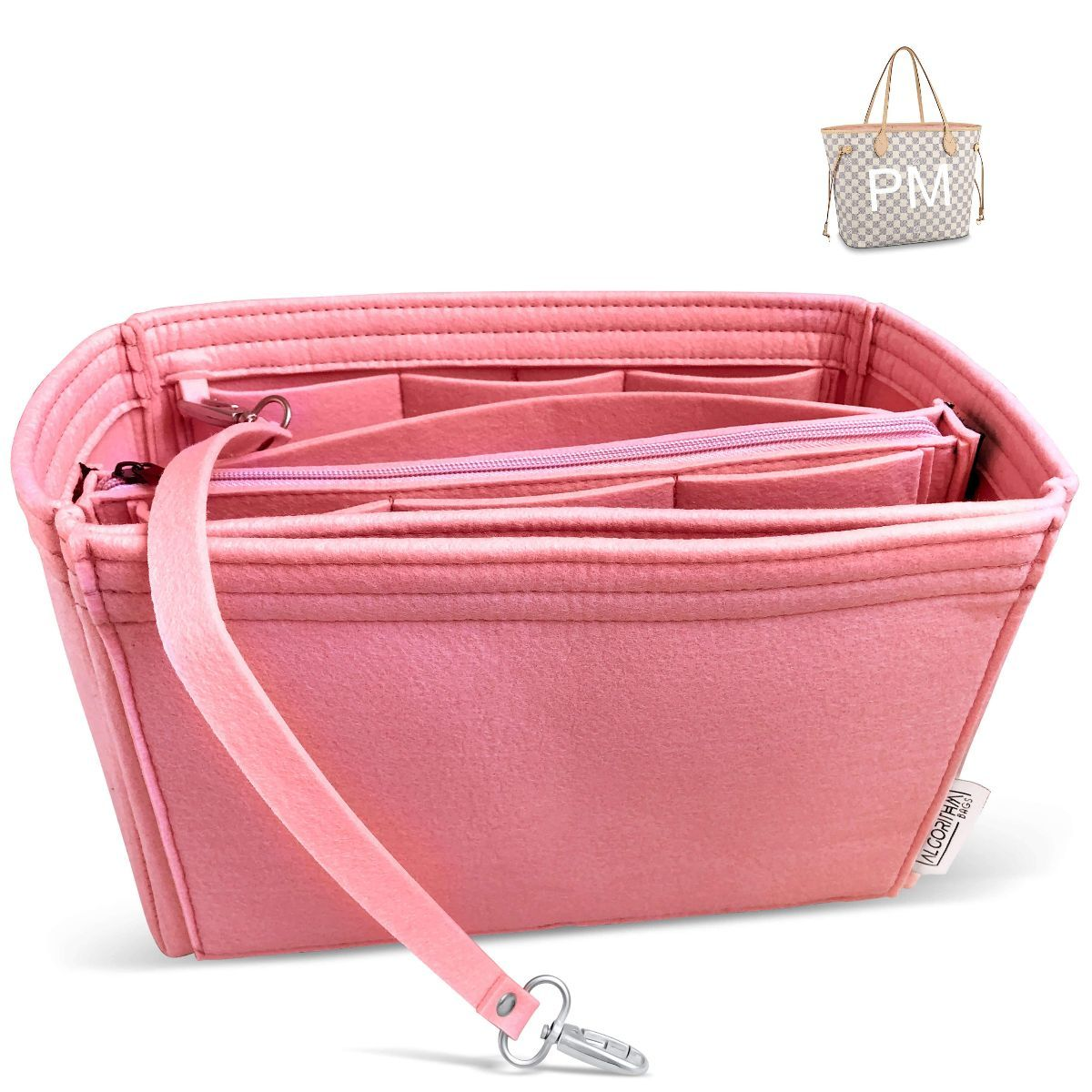 Neverfull PM Organizer Rose