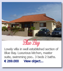Blue Bay Curacao - Lovely villa in well established section of Blue Bay. Luxurious kitchen, master suite, swimming poo.. 3 beds 2 baths. € 269.000     View object...