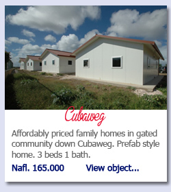 Affordably priced family homes in gated community down Cubaweg. Prefab style home. 3 beds 1 bath. Nafl. 165.000        View object...