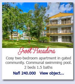 Groot Piscadera - Cosy two-bedroom apartment in gated community. Communal swimming pool. 2 beds 1.5 baths Nafl 240.000   View object...