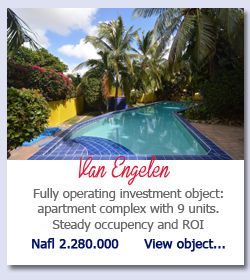 Van Engelen Curacao - Fully operating investment object: apartment complex with 9 units. Steady occupency and ROI Nafl 2.280.000      View object...