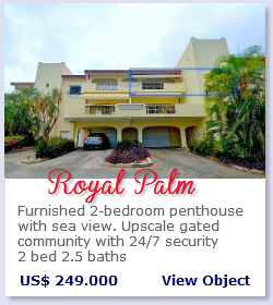 Royal Palm - Furnished 2 bedroom appartment for sale