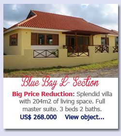 Blue Bay L-Section - Big Price Reduction: Splendid villa with 204m2 of living space. Full master suite. 3 beds 2 baths.US$ 268.000    View object...